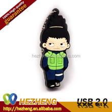 Popular Cartoon Character 4GB Naruto USB Pendrive USB Flash Drive