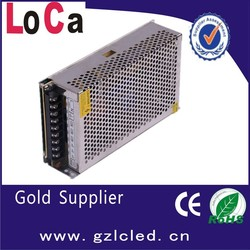 mini size guangzhou 200w 5v 40a led driver for led display