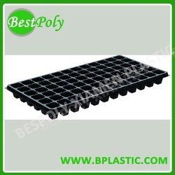 Professional design plastic seeding pot tray with dividers