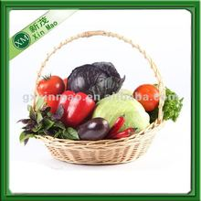 cheap wholesale wicker fruit baskets with handle