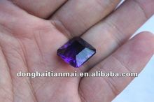 Natural Clear Crystal Carved crystal Square for accessories wholesale
