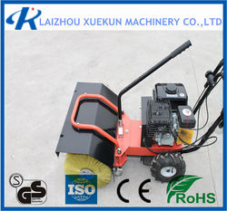 Gas Engine Snow Sweeper Snow Thrower Snow Sweeper Machine