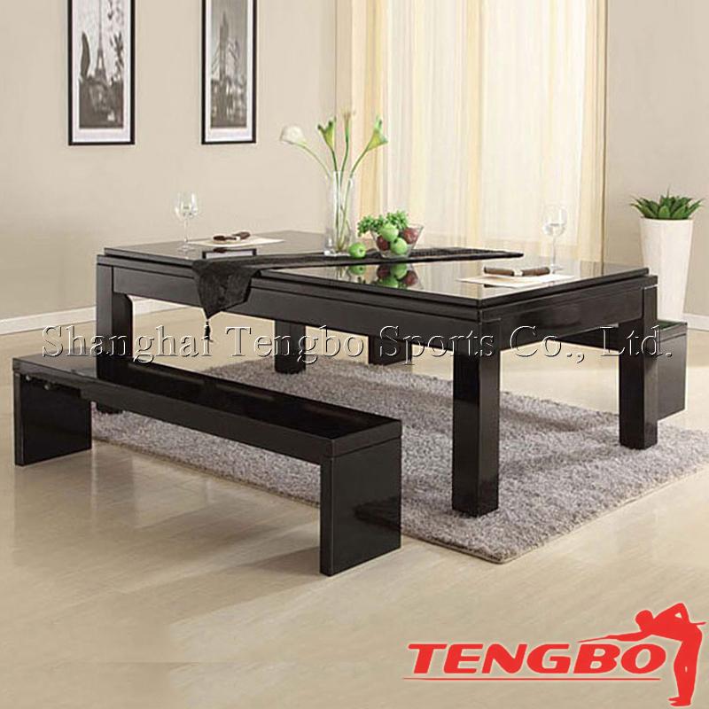 tb-us005 hohe qualität multifunktionale schöne design billard pool, Esstisch ideennn