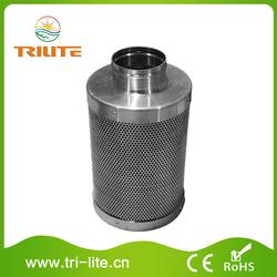 Aluminum filter carbone active
