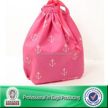 Custom Cheap Small Drawstring Bag Cotton Bags