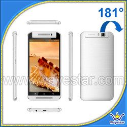 best 5.5 inch smartphone 2 Sim phone with rotating camera