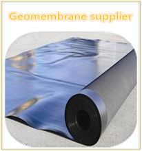HDPE black Geomembrane(0.2-4.0mm)price/plastic sheeting