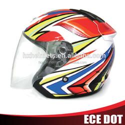 motorcycle helmet with sun visor,cheap sale motorcycle half face helmet
