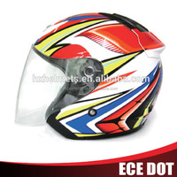 motorcycle helmet with sun visor,cheap sale motorcycle half face helmet