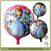 Birthday Party Decorations Balloons Round Foil Balloons