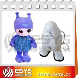 stuffed voice recording singing bear plush talking toys