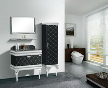 SS bathroom cabinet/free standing bathroom vanity/contemporary bathroom furniture/G-C30110/GUESS