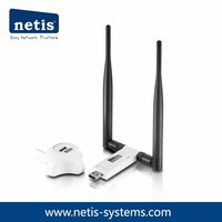300Mbps Wireless N USB Adapter with 2 5dBi Antennas