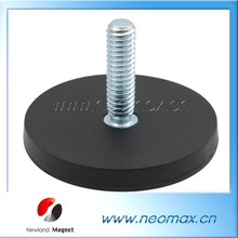 Neodymium Rubber Coated Pot Holding Magnets