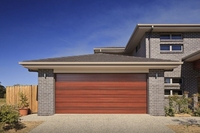 Modern Design Customize Size steel Garage Door
