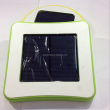 Cute solar power bank 2000mini solar panel power bank with useful function