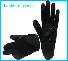 Best selling Leather motorcycle gloves for safety Industrial and Ladies motorbike leather gloves