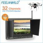 400cd/m alto brilho 7 fpv polegadas monitor para phantom 2 com hdmi entradas av