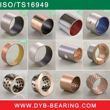 Car bushing(JF800 DX DU SF-1 SF-2 Teflon bush)/steel wrapped bushing/Solid graphite bush