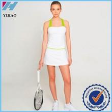 Comercio garantía Yihao para mujer ropa deportiva de tenis de los deportes