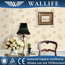 YX20506 beautiful flower non woven wallpaper soundproof wallpaper