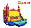 Funny small inflatable slides pool combo