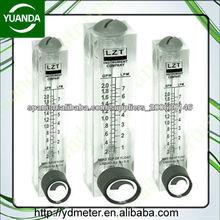 medidor de flujo acrílico