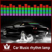 Wholesale auto car music activated led disco lights 12v dc