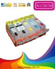 refill ink cartridge with chip for canon MG5170/MG5270/MG8170 with empty cartridge