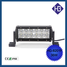 Car accessories Suv Atv Boat Truck Crees bulbs 36W led lamp 4x4 offroad light bar