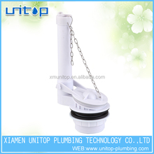 types toilet flushing mechanisms of UPC flapper flush valve