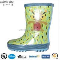 CH.C (166) 2014 winter kids warm rain boots with fur lining