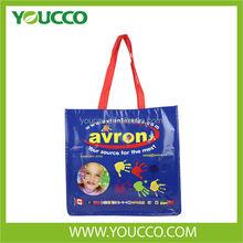 Laminated Non Woven Shopping Tote Bag Biodegradable Bag Carrier Bag