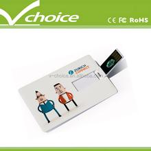hot selling credit card usb pen
