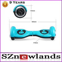 China Alibaba Import New Arrival Two Wheels Self Balancing Smart Electric Balance Scooter 2015