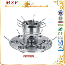 MSF-3554 Happy family gatherings 24pcs stainless steel cheese fondue set