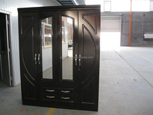 Best quality good looking bedroom large wardrobes with 4 doors