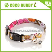New Style 100% Pure Cotton material Pet Cat Collar for small dog