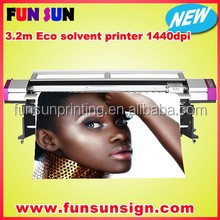 Big discount ! Galaxy 5ft /6ft/7ft/8ft /10ft eco solvent outdoor printer (1440dpi ,dx7/dx5 print head,best quality )