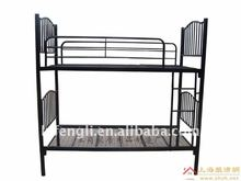 Customized Metal Stainless Steel Frame Folding Double Bunk Beds for Apartment