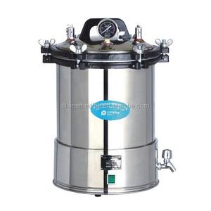 24L Kapasitesi ile ucuz Taşınabilir Otoklav Buhar Sterilizatör Makinesi