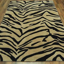 Washable Zebra Rug ZR-001