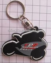 Diy hot style metal keychain with diamond