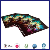 Simple Glitter Paper Finishing Colour Paintings Slogan Poster