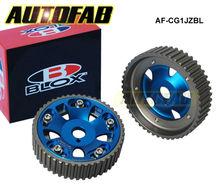 Autofab- engranajes de la leva para toyota supra 1jz 2jz, te( rojo, azul) por defecto es de color azul de alta calidad