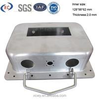 Custom enclosure box anodized aluminium case