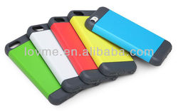 2013 new design hot selling Color stitching hard case cover for iphone 5c apple mini