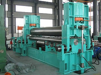 new W11Y hydraulic plate rolling machine, conical rolling machine in China