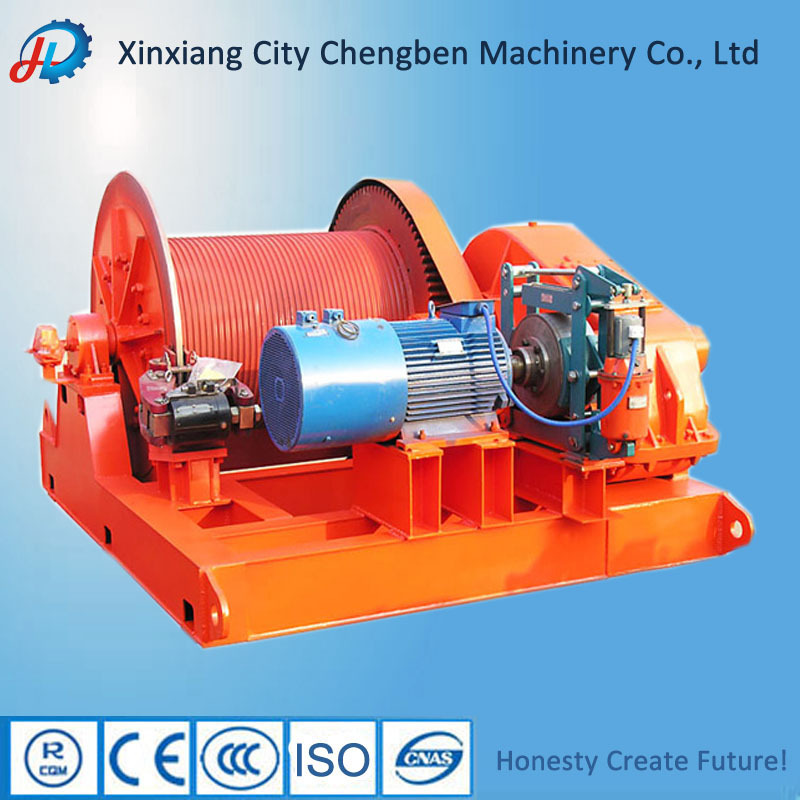 Having Motor And Reducer Used Winch For Sale With Small
