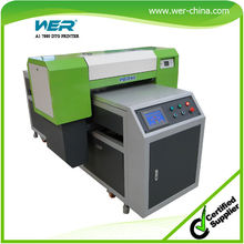 New Hot selling DX5 head 3D texture result A1 uv curing flatbed printers